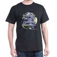 Greatest Fishing Grandpa T-Shirt