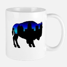 Deep Blue Skyline Mug