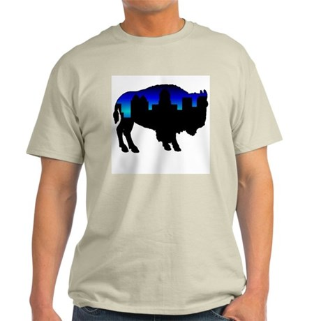 Deep Blue Skyline Light T-Shirt