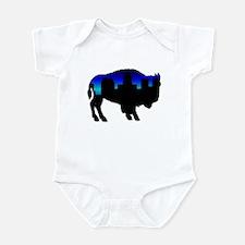 Deep Blue Skyline Infant Bodysuit