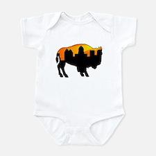 Sunny Day Skyline Infant Bodysuit