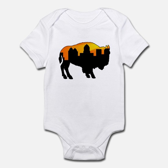 Sunny Day Skyline Infant Bodysuit