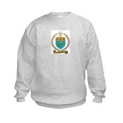 MENEUX Family Crest Sweatshirt