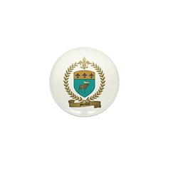 MENEUX Family Crest Mini Button (10 pack)