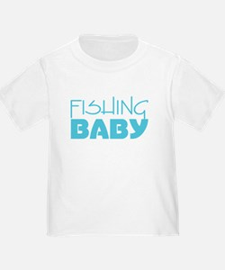 Blue Fishing Baby T