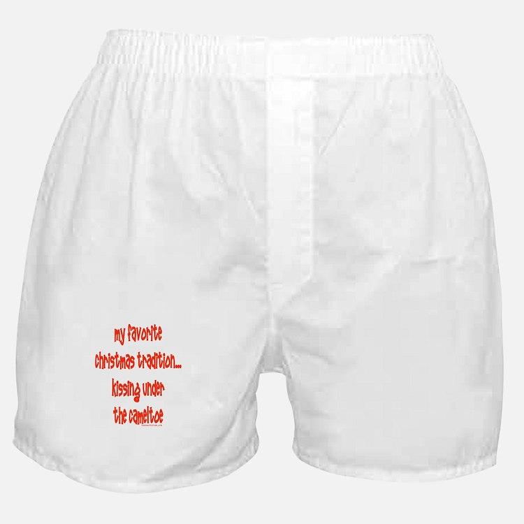 Cute Cameltoe Boxer Shorts