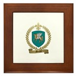 MENARD Family Crest Framed Tile