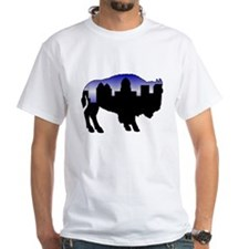 Snowy Day Skyline Shirt