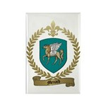 MENARD Family Crest Rectangle Magnet (10 pack)