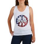 USA Peace Sign Women's Tank Top