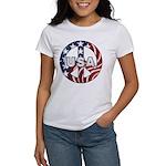 USA Peace Sign Women's T-Shirt