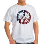 USA Peace Sign Light T-Shirt