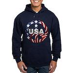 USA Peace Sign Hoodie (dark)