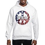 USA Peace Sign Hooded Sweatshirt