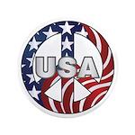 USA Peace Sign 3.5