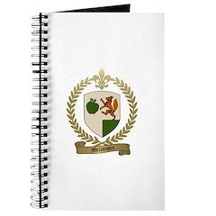 MELLANSON Family Crest Journal