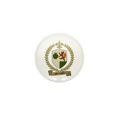MELLANSON Family Crest Mini Button (10 pack)