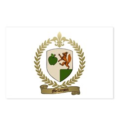MELLANSON Family Crest Postcards (Package of 8)