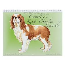 Cavalier King Charles Spaniel Wall Calendar