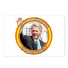Bill Clinton Superstar Postcards (Package of 8)