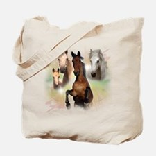 Celestial Horses Tote Bag