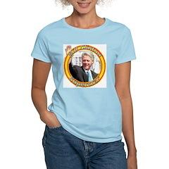 Bill Clinton Superstar Women's Pink T-Shirt