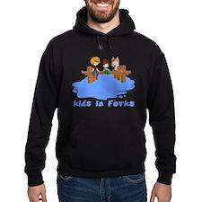 Kids in Forks Hoodie