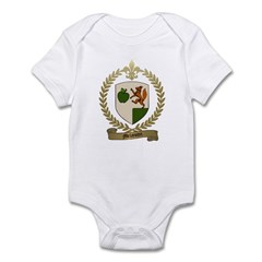 MELANCON Family Crest Infant Creeper