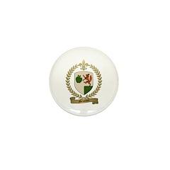 MELANCON Family Crest Mini Button (10 pack)