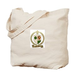 MELANCON Family Crest Tote Bag