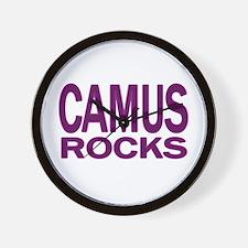 Camus Rocks Wall Clock