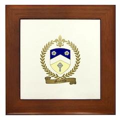 MAZEROLLE Family Crest Framed Tile