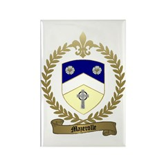 MAZEROLLE Family Crest Rectangle Magnet