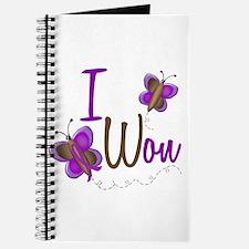 I Won 1 Butterfly 2 PURPLE Journal