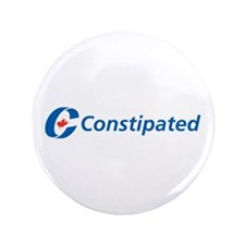 "Constipated 3.5"" Button"