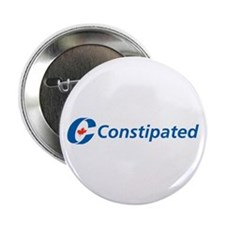"""Constipated 2.25"""" Button (10 pack)"""
