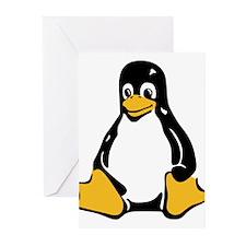 Classic Tux Penguin Greeting Cards (Pk of 10)