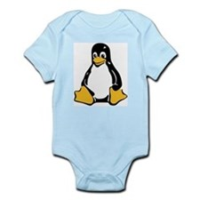 Classic Tux Penguin Infant Creeper