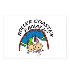 Roller Coaster Fanatic Postcards (Package of 8)