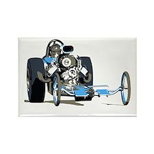 Vintage Top Fuel 1 Rectangle Magnet