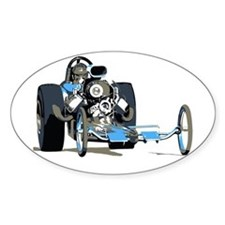 Vintage Top Fuel 1 Oval Decal