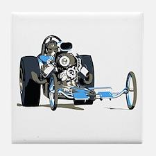 Vintage Top Fuel 1 Tile Coaster