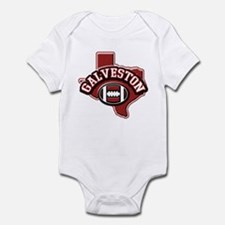Galveston Football Infant Bodysuit