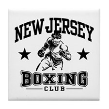 New Jersey Boxing Tile Coaster