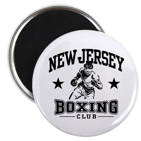 New Jersey Boxing Magnet