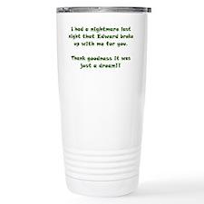 Edward Bad Dream Travel Mug