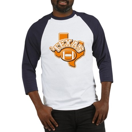 Texas Football Baseball Jersey