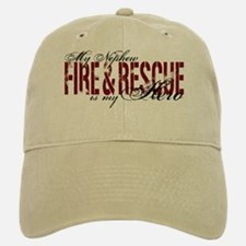 Nephew My Hero - Fire & Rescue Baseball Baseball Cap