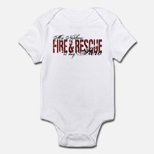 Nephew My Hero - Fire & Rescue Infant Bodysuit