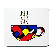 MONDRIAN COFFEE Mousepad
